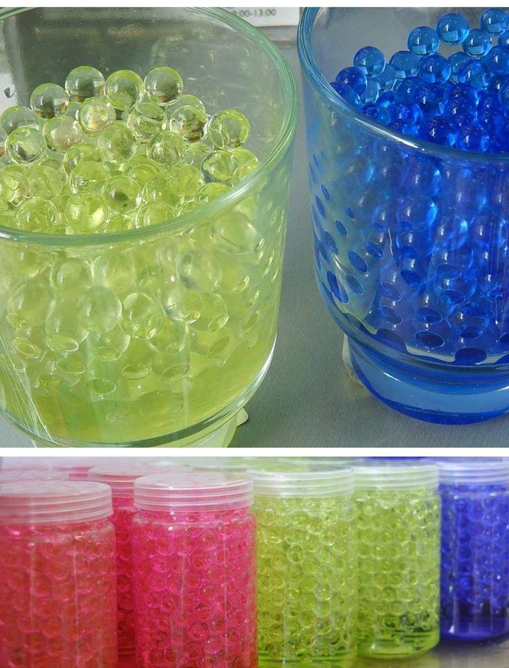 Perle decorative, cu apa. Dif. culori. art.-nr: 00888. Lei 7.-