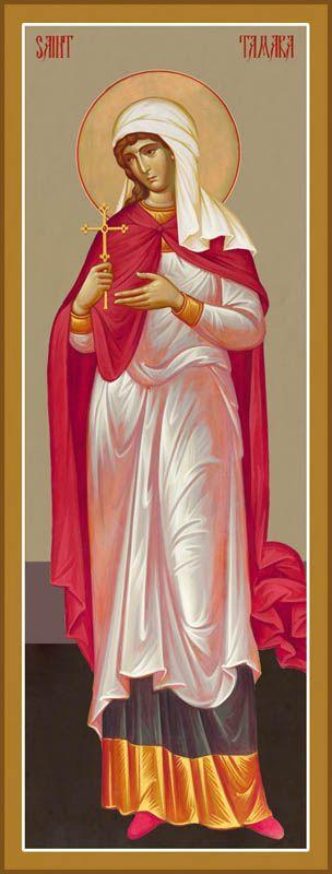St Tamara, Queen of Georgia