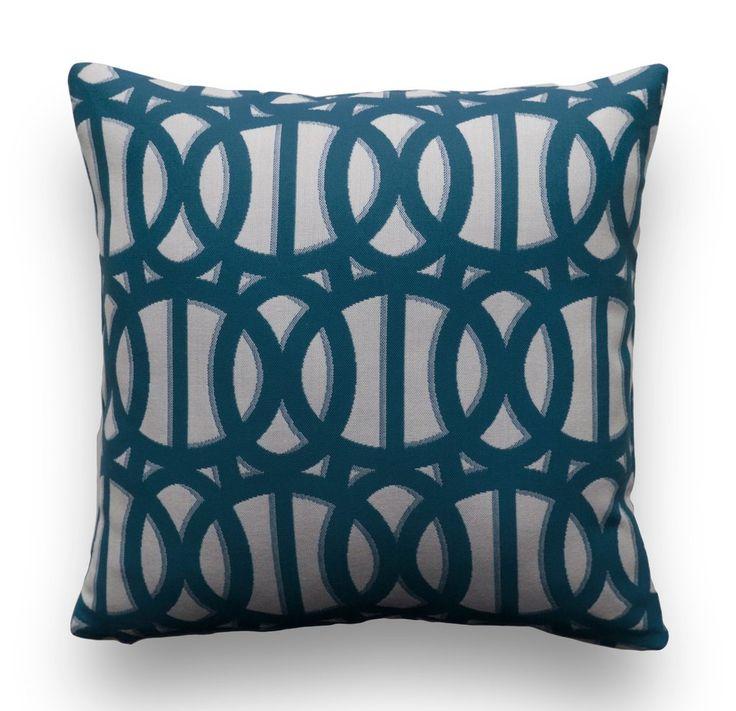 Sunbrella® Pillow Cover - Reflex in Regatta