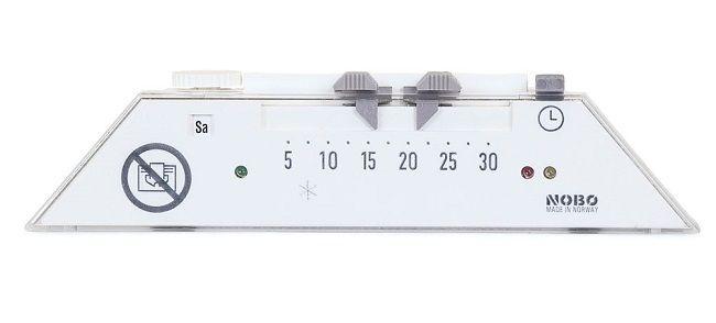 ТОЧНАЯ ТЕМПЕРАТУРА Обогреватели Nobo оснащены высокоточными термостатами, которые гарантируют, что температура будет соответствовать установленной. Возможность поддерживать одну и ту же температуру имеется даже в случае, если меняются условия, в которых происходит обогрев. Таким образом, вы можете просто включить обогреватель Nobo и указать нужную вам температуру только один раз – и вам больше не придётся менять настройки, даже если изменятся условия погоды.