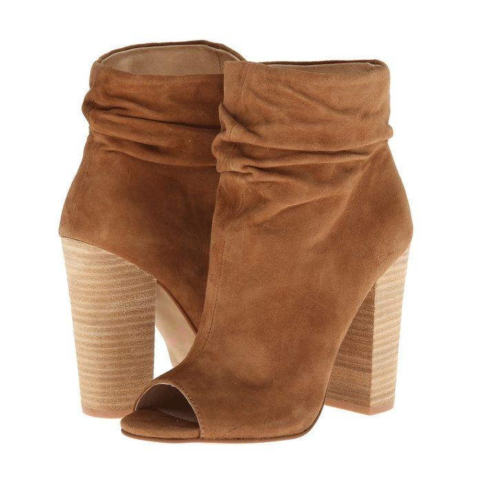 Rank & Style - Kristin Cavallari 'Laurel' Peep Toe Bootie #rankandstyle