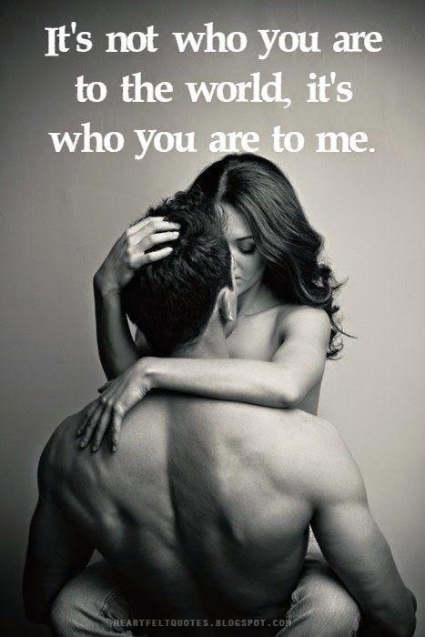 Follow @styleestate on Pinterest. It's It's ☕️⌚️ It's not who you are to the world, it's who you are to me.