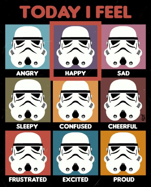 Stormtrooper mood chart {LOL}