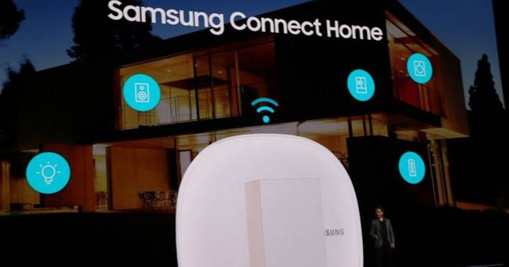 Samsung annonce son routeur domotique Wi-Fi Connect Home - http://blog.domadoo.fr/65477-samsung-annonce-routeur-domotique-wi-fi-connect-home/