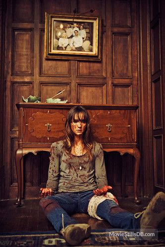 You're Next publicity still of Sharni Vinson
