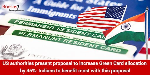 Legislation to increase allotment of US Green Cards by 45% presented at the House of Representatives- US.