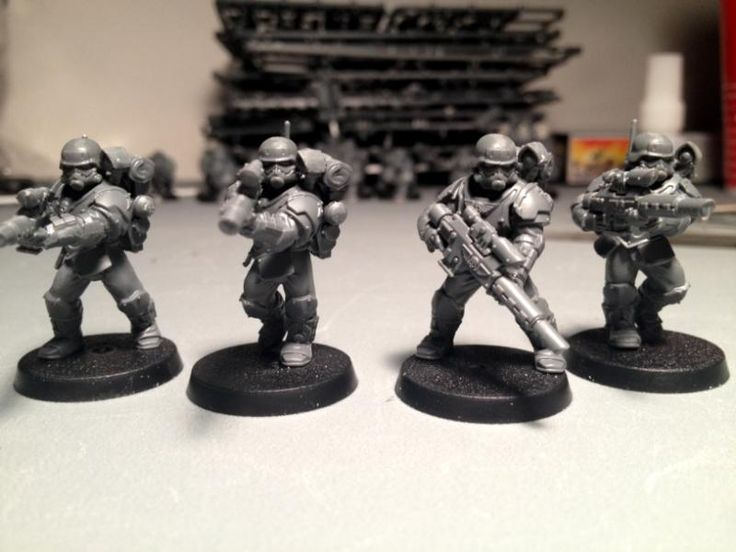 Dreamforge heads on GW scions
