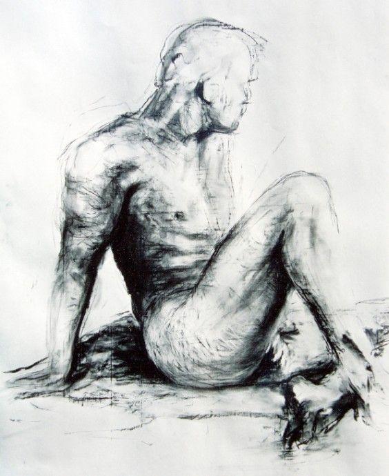 Nude 2 - Artwork by Matthew Ziranek