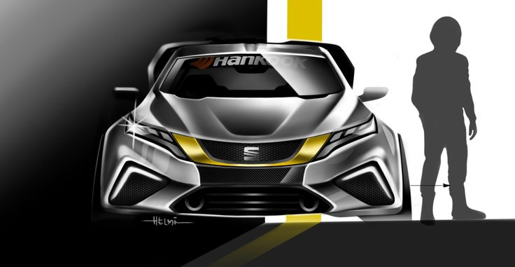 """Check out my @Behance project: """"SEAT GT Vision 2017"""" https://www.behance.net/gallery/45513129/SEAT-GT-Vision-2017"""