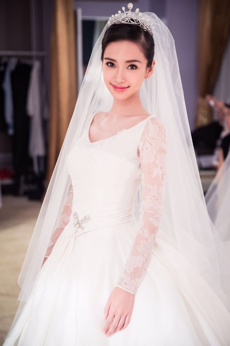 Angelababy's wedding dress was designed by Dior