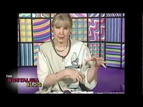Rainbow Sponge commercial lady
