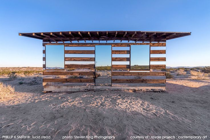 Mirrored design makes this cabin almost disappear!
