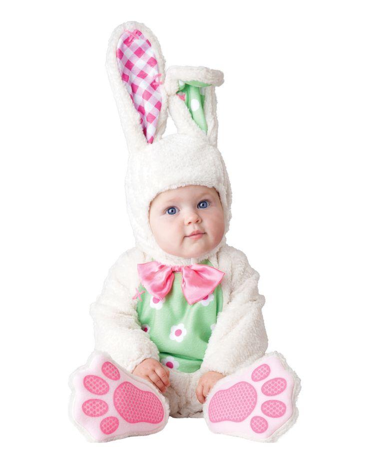 Super schattige luxe kwaliteit babykostuum van een konijntje! Nu bij Vegaoo.nl