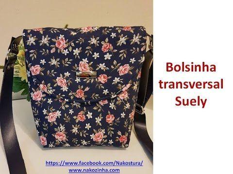 Bolsinha Transversal Suely - YouTube