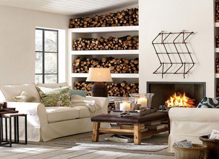 Las 25 mejores ideas sobre salas de estar r sticas en for Sala rustica moderna