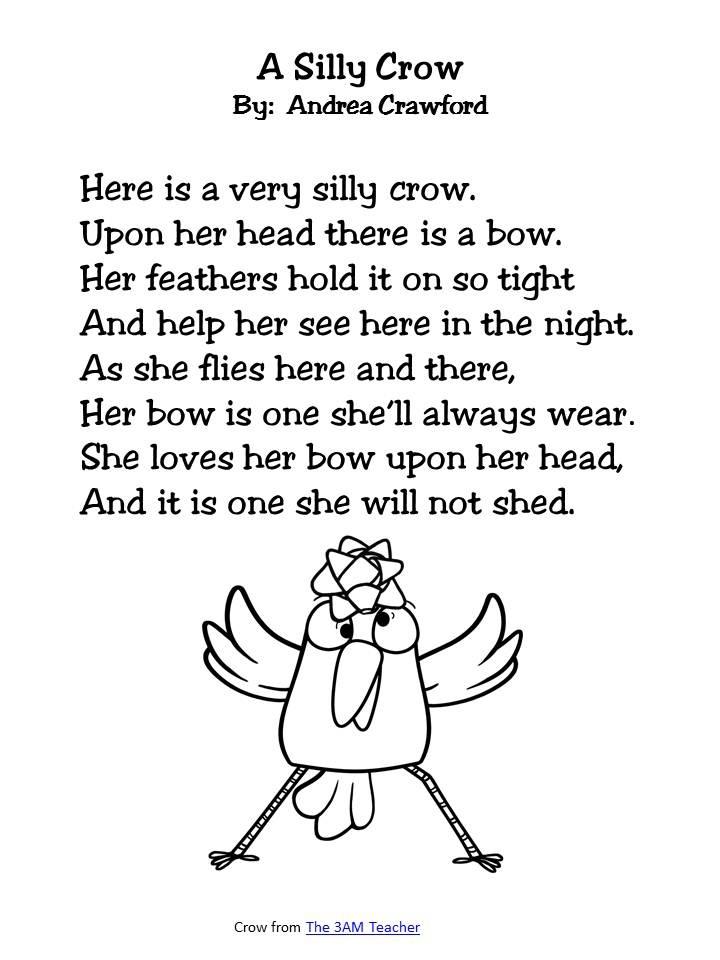 Sight Word Poem Freebie as seen on Second Grade Squad  www.secondgradesquad.com