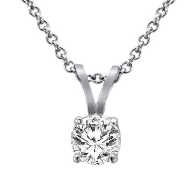 14K White Gold Round Solitaire Diamond Pendant (5/8 ctw, G-H/SI1-I2)   3.6 out of 5 stars    See all reviews (16 customer reviews)     Like   (11)  List Price:$1,362.90  Price:$699.00   Sale:$369.00  & this item ships for FREE with Super Saver Shipping and Free Returns. Details   You Save:$993.90 (73%)               In Stock.