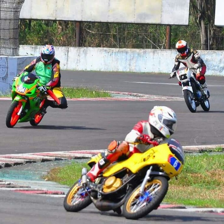 Race in action