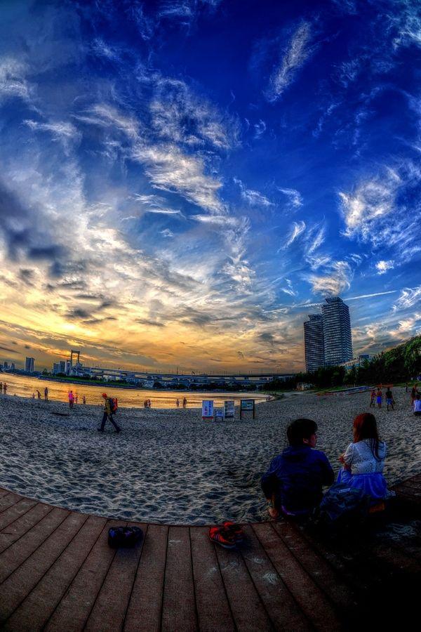 Daiba Beach (お台場海浜公園)