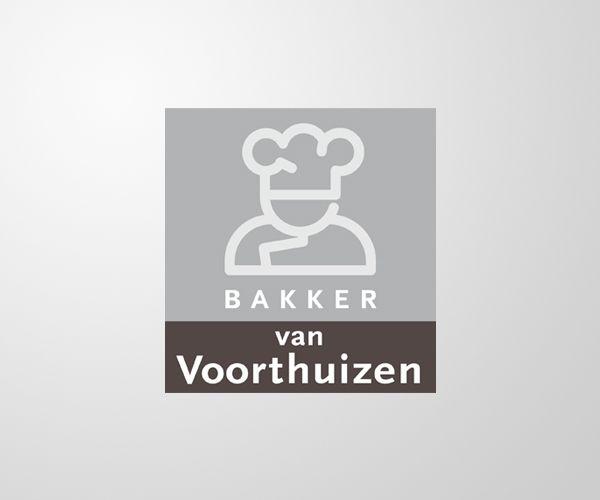 Ontwerp logo en huisstijl Bakkerij Van Voorthuizen.