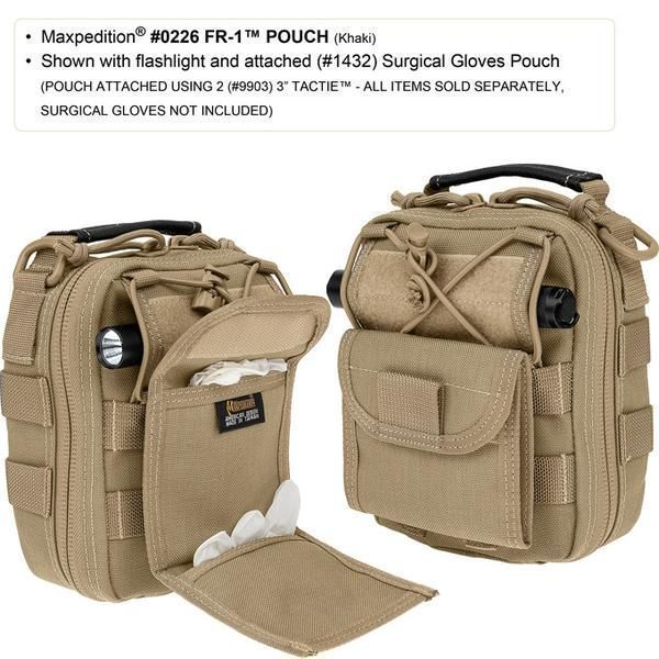 FR-1 Medical Pouch- Maxpedition, EMT, First Response, EDC, First-Aid Kit, Med Kit, Emergency Kit, Pouch, Maxpedition, Military, CCW, EDC, Tactical, Everyday Carry, Outdoors, Nature, Hiking, Camping, Police Officer, EMT, Firefighter, Bushcraft, Gear. #bushcraftmedicalkit #bushcraftkit #bushcraftcamp