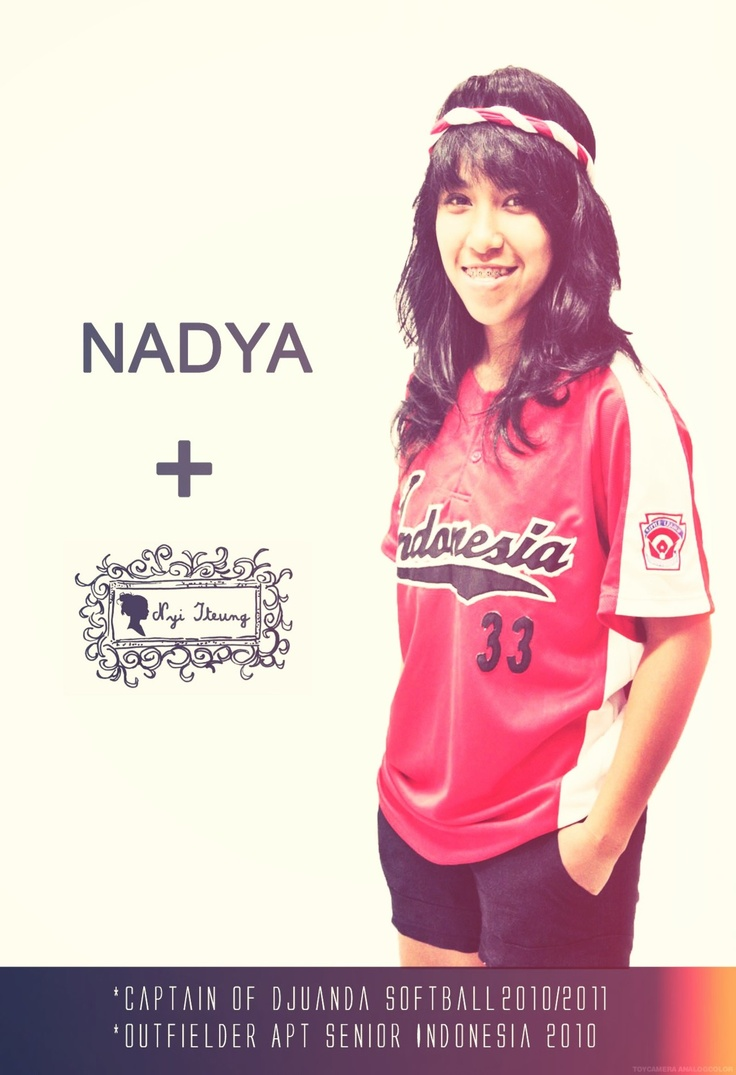 Nyi Iteung's nationality spirit campaign with Nadya Pattiasina, former Captain of Djuanda Softball & Outfielder APT Senior Indonesia.
