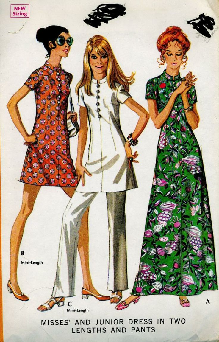 Boho tunic top blouses and dress 4009 trendy boho vintage gypsy - Find This Pin And More On Thee I Will Don Vintage Mccalls 2371 Sewing Pattern Nehru Collar Maxi Mini Dress Tunic