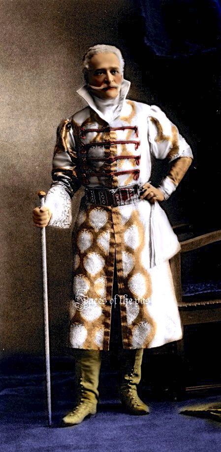 Prince Constantine Alexandrovich Gorchakov at the Winter Palace Costume Ball of 1903.   by ~VelkokneznaMaria