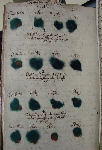 A 17th century German dyeing recipe book!