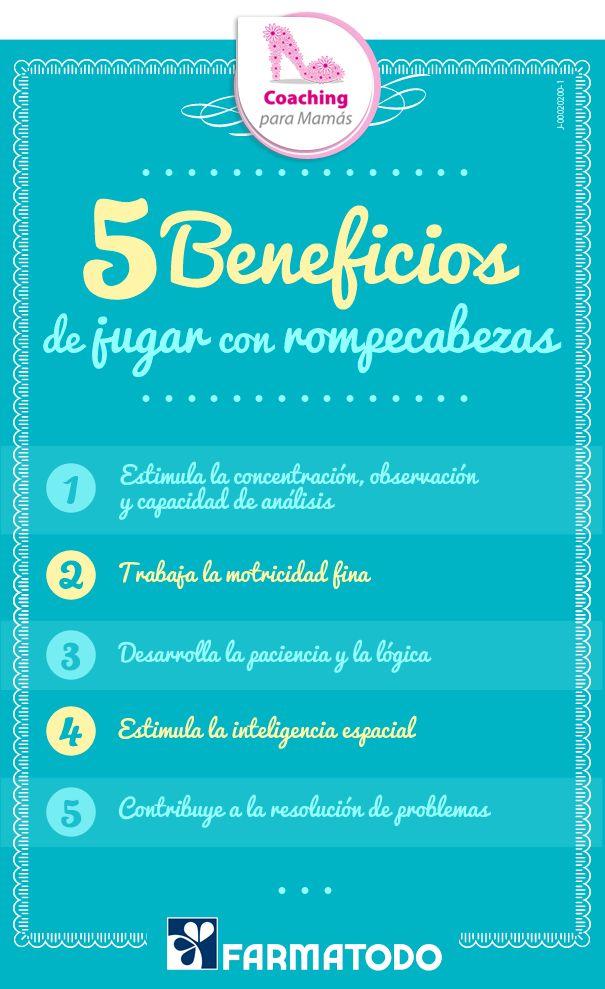 Conoce los 5 beneficios de jugar con rompecabezas #Familia