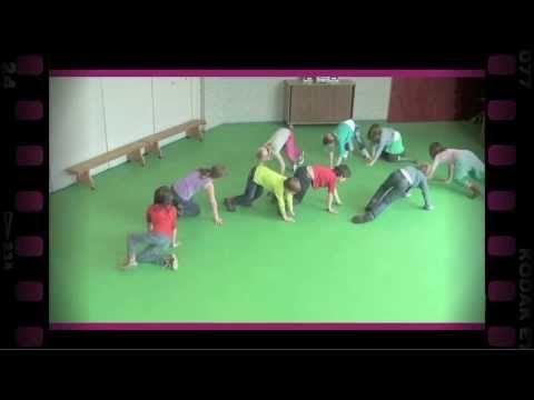Dierenloopjes (dramaoefening bij lesmethode DramaOnline) - YouTube
