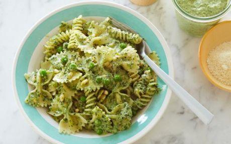 Pasta With Peas And Parsley-Walnut Pesto Recipes — Dishmaps