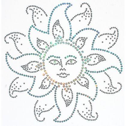 11x11 - Paz TASARIMI - payetler, güneş, güneş tasarımı, Rhinestones, Malzeme Transferi, Moda, Bayanlar Moda Uygun Fiyatlı