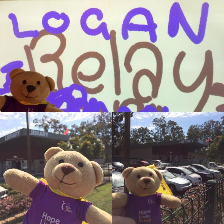 Where was Logan today? #loganrelay - Marsden Library