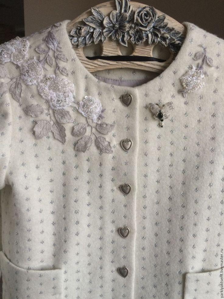 Купить Костюм КТЮ 2048 - чёрно-белый, в горошек, комплект для девочки, кардиган, юбка для девочки