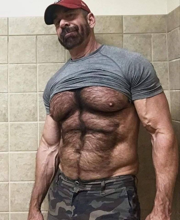 Pin on Bear muscle