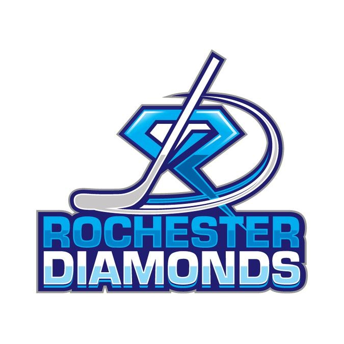 Design a logo for our girls ice hockey team. We are beautiful but hard as diamonds by Web Logos Hub