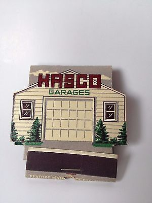 SOLD sorry you missed out. These are in my husband's  ebay  store  Hasco Garages Contour Feature Matchbook Front strike unstruck Lion Small o