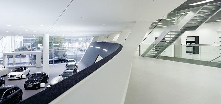 Audi Zentrum Frankfurt, Realisierung 2012