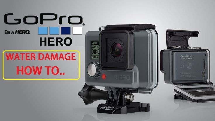 WATER DAMAGE to GoPro HERO HOW TO Disassemble and Fix your GoPro Hero