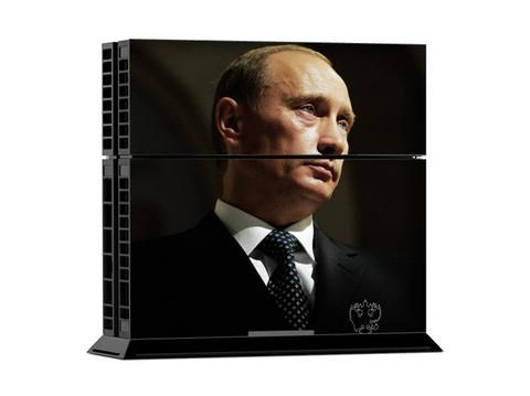 """Narcando Canada Vladimir Putin PS4 Vinyl Decal Sticker Narcando Canada Deals!!     Leggings, T-Shirts, Hats, Winter Clothing, Sweatshirts & Hoodies, Jewelry, Gaming devices & hardware plus much more!     #Narcando #Canada    Save an 10% using the Promo code """"Newbie""""     #tshirts #deals #shopping #love #jewellery #gamers #luxury#leggings #fashion #love"""