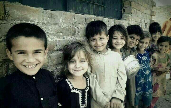 Syrian Arab Muslim Children (Syria, Shaam) #Photography #People #Human #Kid #Boy #Girl