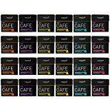 Viaggio - Capsules de café gourmet - Compatible Nespresso - 240 Capsules - Assortiment 6 variétés