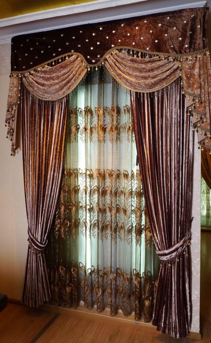 1177 best images about zaslony i lambrekiny on pinterest. Black Bedroom Furniture Sets. Home Design Ideas