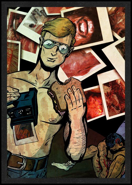 Jeffrey Dahmer is Card Number 15 from the New Serial Killer Trading Cards by SerialKillerBiz on Etsy