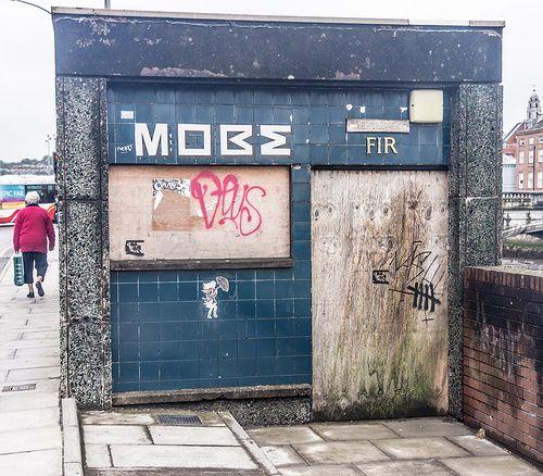 Old Public Toilet On Merchant's Quay - Cork City [The Streets Of Ireland]