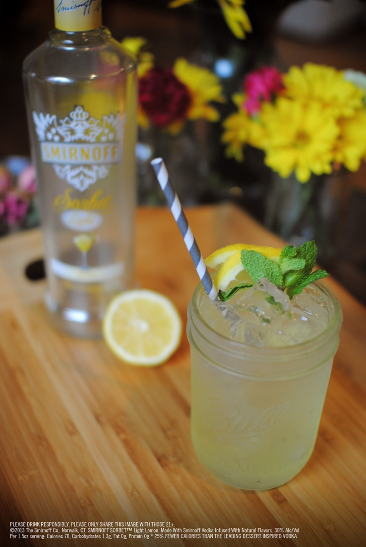 17 best images about smirnoff sorbet light lemon on for 7 and 7 drink recipe