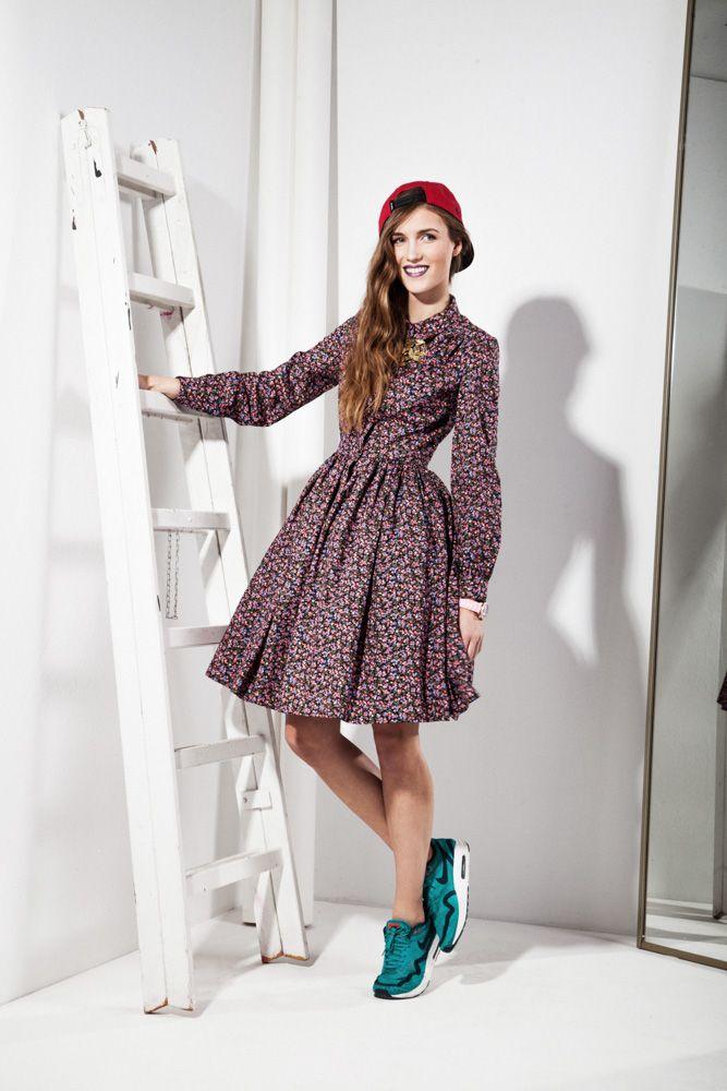 50s style Dress 295zł / 85$ 100% Cotton, Petticoat 113zł / 33$ Lining-viscose / Tule-polyester