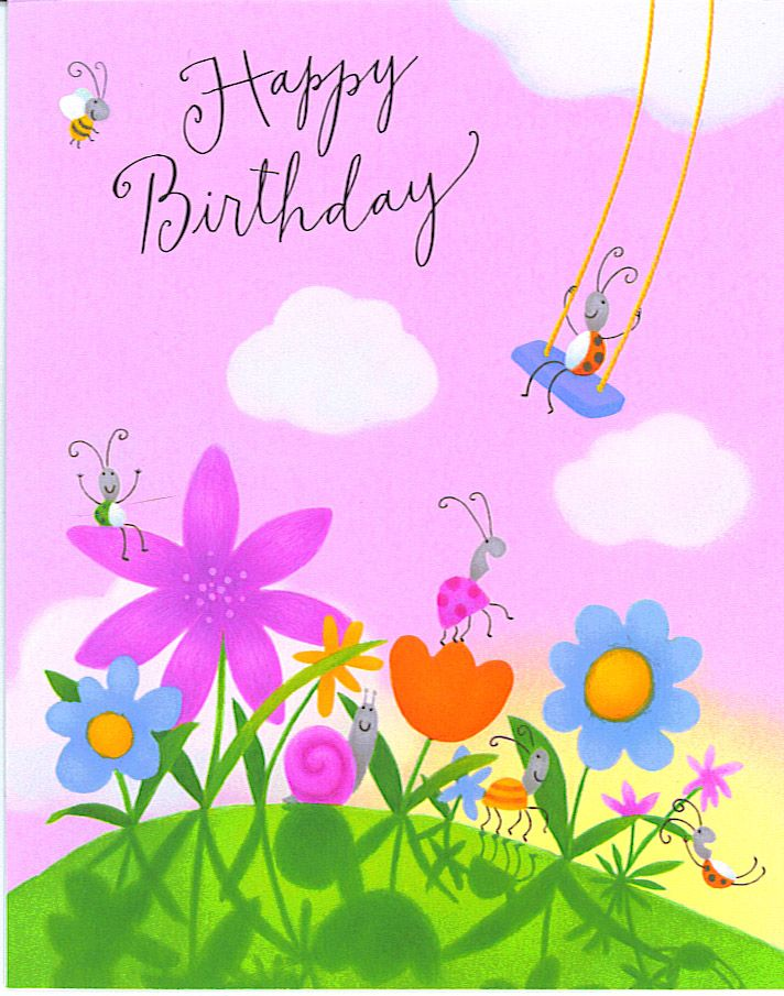 cute birthday cards free happy birthday greeting card animation