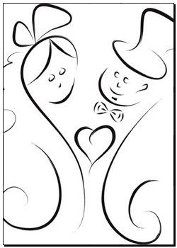 Stampe - coppia matrimonio k11872426 - poster, stampa su tela, stampa murale, poster artistici, decorazioni murali - k11872426.eps